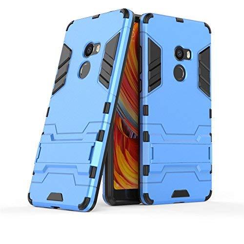 GOGME Funda para Xiaomi Mi Mix 2, Soporte Plegable Case, Azul