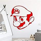 Luxueux mario Stickers Muraux Décor À La Maison Filles Chambre Sticker pour Salon Société École Bureau Décoration Art Decal