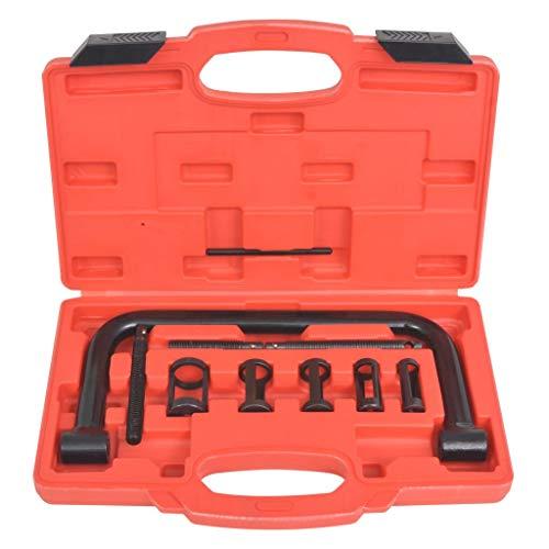 10-teiliges Werkzeug-Set für Federdruckfeder mit Ventil C-Klemme