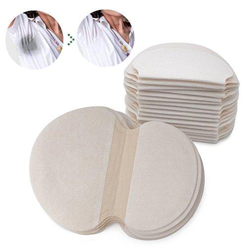 Achelpads, Desechables almohadillas para el sudor de axilas protección contra el sudor y desodorante manchas, puro del color es suave absorbente (20pcs)