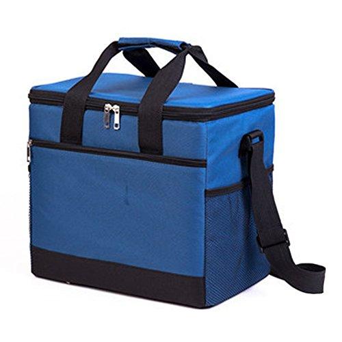 PANDA SUPERSTORE Picknick-Tasche im Freien 20L großer weicher kühler Isolierpicknick-Mittagessen-Tasche für den Lebensmittelgeschäft, kampierend, Auto, - Kühler Iglu Mittagessen Tasche