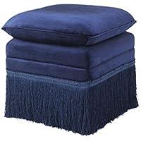 Comparador de precios Casa-Padrino Luxury Stool Blue 41 x 41 x H. 42 cm - Hotel Stool Furniture - precios baratos