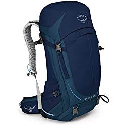 Osprey Stratos 36 Men's Ventilated Hiking Pack - Eclipse Blue (M/L)