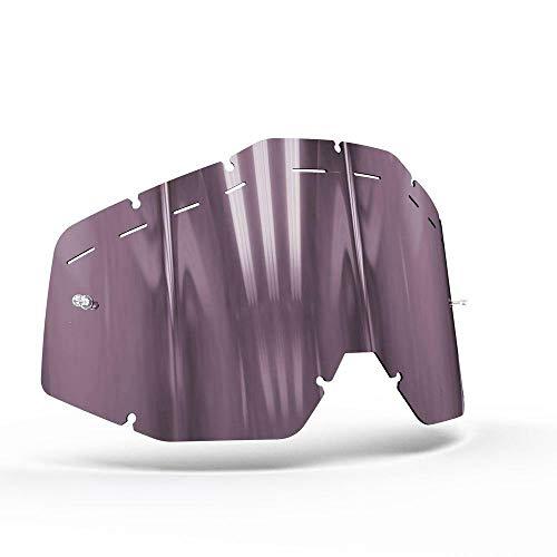 OnyxLenses Husqvarna   Racecraft/Accuri/Strata w/Pins & Vented Kontrast Violett Polarisiert Ersatzscheibe