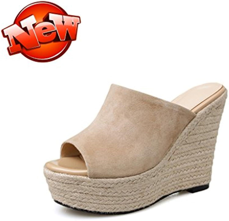 mujer con de Sandalias impermeable Zapatos tacón Qingtaoshop de mujer Yvf6y7bg