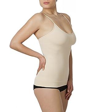 Sleex Figurformendes Damen Unterhemd (mit feinen Traegern)
