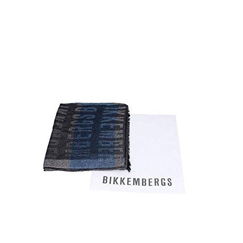 Bikkembergs DI1 I8102 Pashmina Borse & Accessori Viscosa/modal GRIGIO/BLU GRIGIO/BLU TU