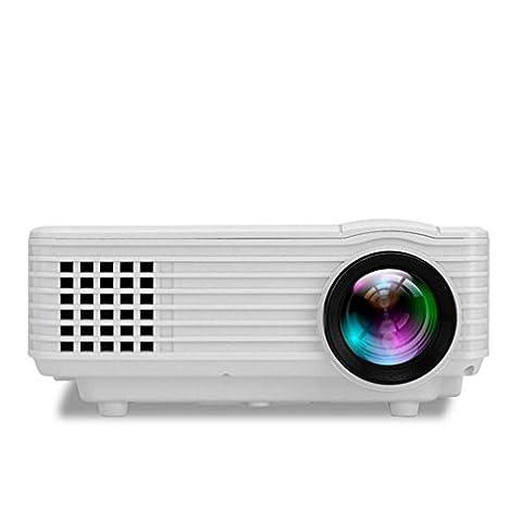Projektoren Video Projektor 800 Lumen Unterstützung 1080P Portable PC Laptop Full HD Portable Handheld Projektor Handheld Parteien Gaming Clubs