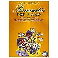 Gold Edition Romantic Pop Piano. Partituras, CD para Piano y Guitarra(Símbolos de los Acordes)