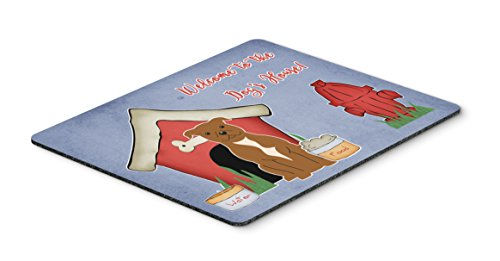 Caroline 's Treasures Dog House Collection Staffordshire Terrier Maus Pad, multicolor, 7,75x 23,5(bb2801mp) -
