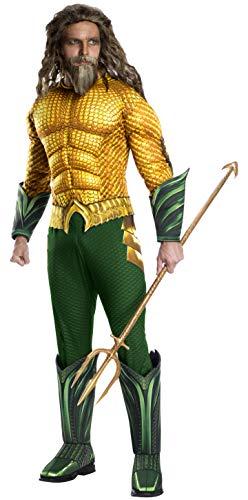 Kostüm Aquaman Für Erwachsene - Rubies 3821197 - Aquaman Deluxe - Erwachsene