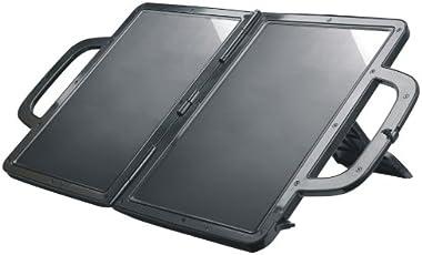 Visua solarbetriebenes Ladegerät. Aktentasche Design. Ideal für PKW, Wohnwagen und Boote (7 Watt)