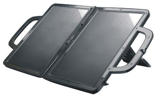 Visua solarbetriebenes Ladegerät. Aktentasche Design. Ideal für PKW, Wohnwagen und Boote (7 Watt) (Aktentasche Freundliche Eco)