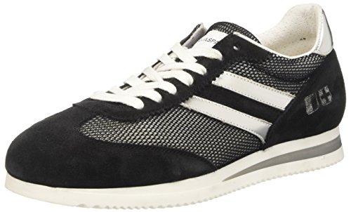 D'Acquasparta Damen Isotta Niedrige Sneaker, Schwarz,, gebraucht gebraucht kaufen  Wird an jeden Ort in Deutschland
