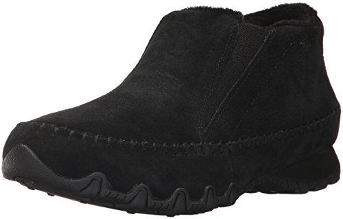 Skechers Women's Bikers-Spirit Animal Chelsea Boots, Black (Black), 7 UK 40 EU