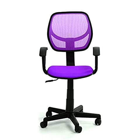 GreenForest Desk Chair Adjustable Height Swivel Computer Chair for Kids