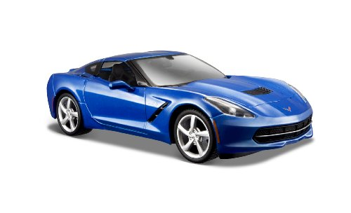 maisto-31505bl-vhicule-miniature-modle-lchelle-chevrolet-corvette-coupe-2014-echelle-1-24