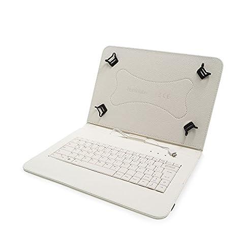 Universal Schutzhülle + USB-Tastatur für 9-10