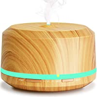 BAXiA Aroma Diffuser, 450ml Ultraschall Luftbefeuchter Aromatherapie Ätherischesöl Oil Diffusor Humidifier mit... preisvergleich bei billige-tabletten.eu