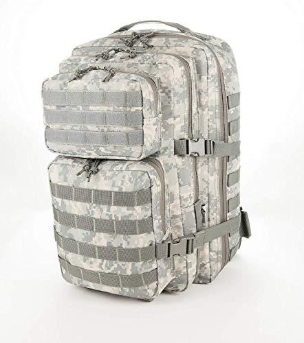 Us army zaino assault, 50 litri, digital camo
