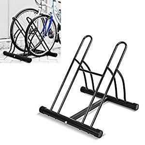 FEMOR Aparca Bicicleta Soporte para Bicicleta Suelo Aparcamiento de Bicicletas Parking de...
