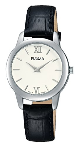 Pulsar Ladies Watch XS Quartz Analog Quartz Leather PRW021 x 1