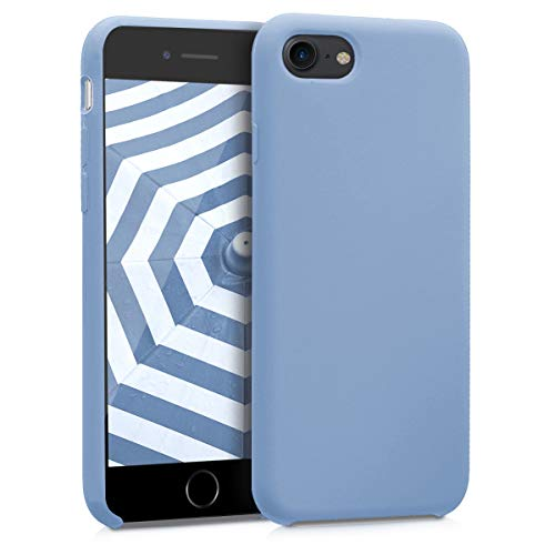 kwmobile Apple iPhone 7/8 Hülle - Handyhülle für Apple iPhone 7/8 - Handy Case in Hellblau matt -