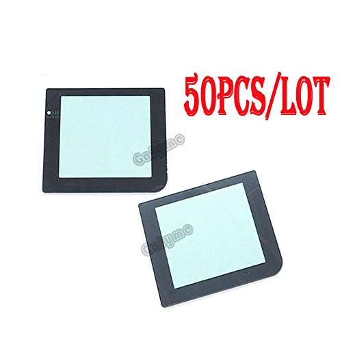 50/Lot Hot Sale Kunststoff Ersatzteil mit Lampe Loch Bildschirm Objektiv für Gameboy GB Pocket GBP Displayschutzfolie Objektiv Fall