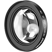 Neewer 52mm 10X Macro Primer Plano Lente con Vidrio Antirreflectante HD para Nikon D5, D4, D810, D800, D750, D610, D500, D7200, D7100, D7000, D5500, D5300, D5200, D3300, D3200 Digital SLR Camaras
