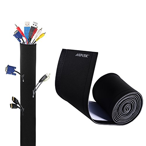 AGPTEK Universal Funda Cables Material Elastico Neopreno