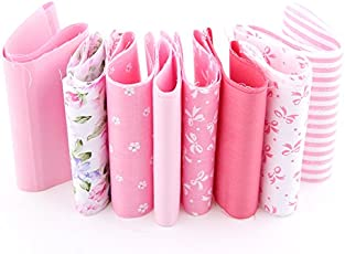 Generic 2016 Generic Print Flower Pattern 8 Colors Cotton Fabric Strips Quilting Patchwork Crafts For DIY Sewing Toys 10*50 CM A3-8-1S