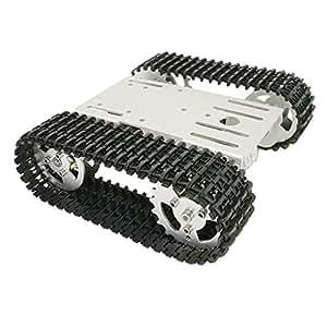 Robot Smart Sm À Chenilles Sunnimix Chassis T101 Véhicule Tank De 3q5R4LAj