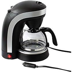 Machine à café pour camion pour 6 tasses avec prise pour allume-cigare 24V / 250W