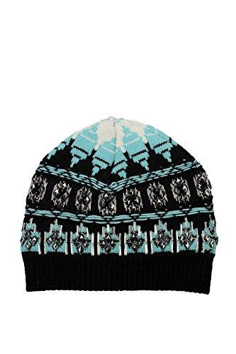 chapeaux-emilio-pucci-femme-laine-noir-et-celeste-46kx0246899j40-noir-m