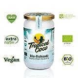 Huile de coco bio extra vierge - Graisse de coco végane 1000 ml, huile de noix de coco pressée à froid | superfood sans...