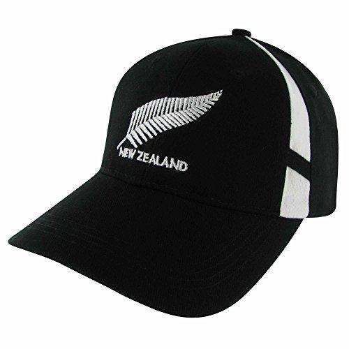 Neuseeland Erwachsene Sport Baseball Cap (verstellbar) für Rugby oder Fußball Fans