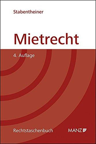 Mietrecht (Rechtstaschenbuch (RTB))