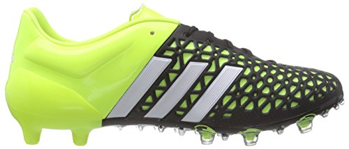 adidas Ace 15.1 FG/AG Herren Fußballschuhe Gelb (Solar Yellow/Ftwr White/Core Black)