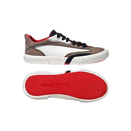 Sneakers - 213j-suede Full Grain Vul - Bambini BEIGE-NAVY