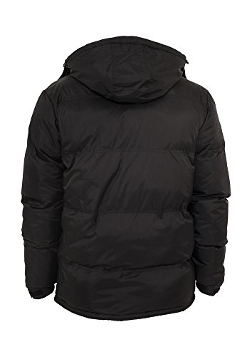 Urban Classics Bubble Long Jacket blk/gry