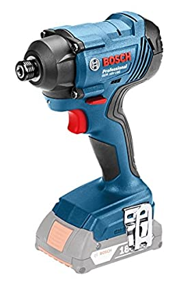 Bosch Professional - Taladro atornillador de impacto a batería GDR 18V-160 (sin batería, maletín L-BOXX, 18 V, par de giro máx.: 160 Nm)