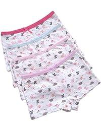 iVENUS 12 Pares de niñas Ropa Interior Boyshort Calzoncillos elásticos algodón bebé niñas ...
