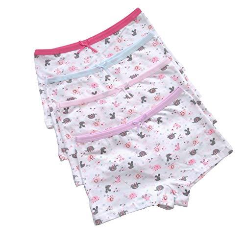 iVENUS 12 Paar Mädchen Kinder Unterwäsche Boyshort Elastische Unterhose Baumwolle Baby Mädchen Knickers Kleinkind Mädchen Höschen (S(1-2 Years))