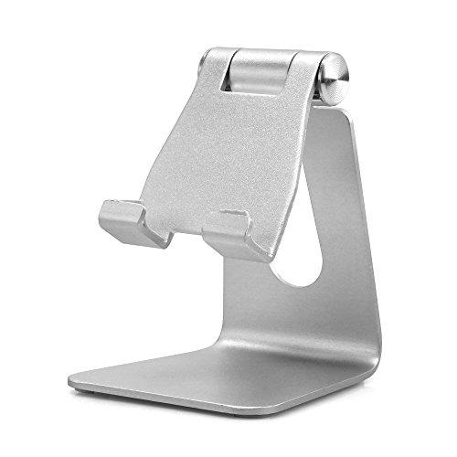UGI Handyhalter, verstellbarer Ständer für Smartphones (iPhones, Samsung, HTC usw.) und Tablets (iPad, Mini iPad usw.)