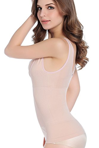 Intimate Portal Damen Verschlussfreies Körperformendes Still-Hemd Tanktop Schwarz