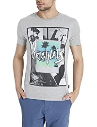 Flat 60% Off On : Jack & Jones Casual Printed T-Shirts For Men's low price image 12