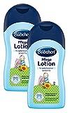 Bübchen Pflege Lotion, sensitive Körperlotion  für zarte Babyhaut, mit Sheabutter und Sonnenblumenöl, Menge: 2 x 400 ml