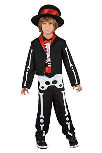 U LOOK UGLY TODAY Halloween Kostüm Jungen Kinder Verkleidungsparty Vampir Pirat Skelett Dino Dinosaurier für Halloween Karneval - Der Ninja Vampir Kostüm