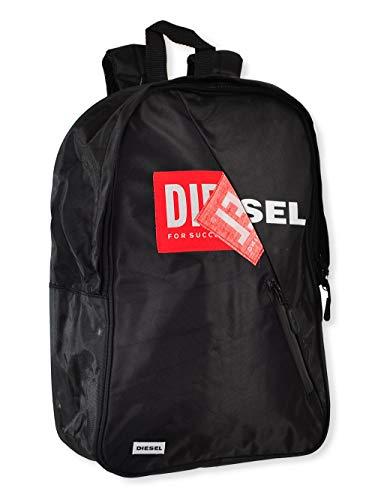 Diesel, Daypack Schwarz Schwarz