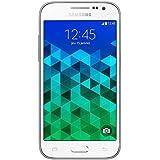"Samsung Galaxy Core Prime - Smartphone libre Android (pantalla 4.5"", 4G, cámara 5 Mp, 8 GB, Quad-Core 1.2 GHz, 1 GB RAM), blanco (importado)"